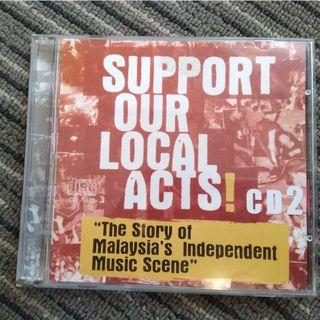 Support our local act! Vol 2 - Copy/ CDR