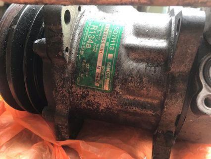 Sanden saga Iswara air con compressor