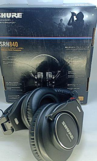 Headphone SHURE SRH-840