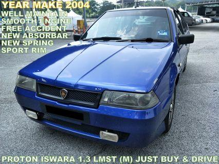 2004 Proton Iswara 1.3 LMST (M) WELL MAINTAIN JUST BUY AND DRIVE