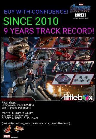* LIMITED PO slot available  Hot Toys MMS548 1/6 Avengers Endgame Rocket Iron Patriot
