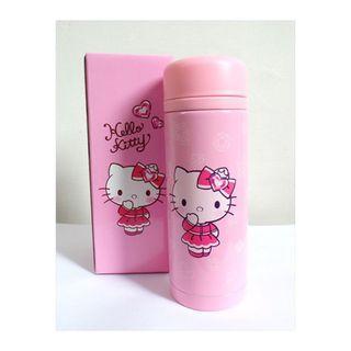Hello Kitty粉紅浪漫保溫杯 保溫瓶 (全新)