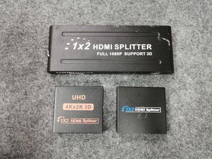 1 x 2 HDMI Splitter