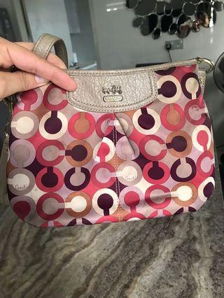 """""""Reduced price """"Coach sling bag"""