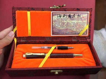 香黃檀 鋼筆