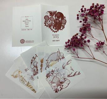活版印刷 藏書票