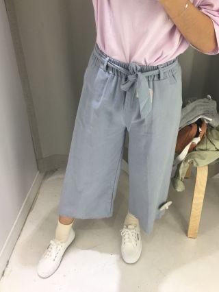 造福小隻女的寬褲