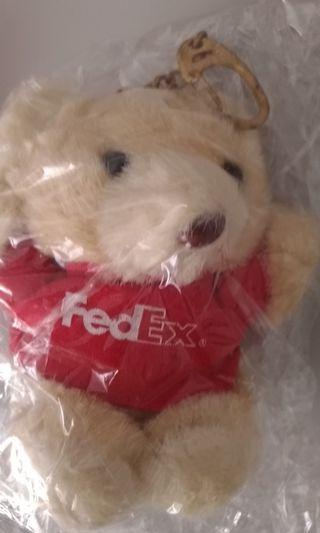 FEDEX 小熊鑰匙圈