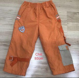 Chili男童厚鋪棉長褲
