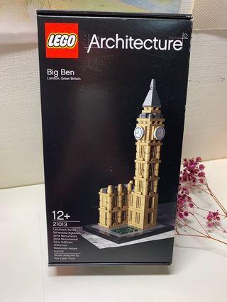 全新未拆 樂高 lego 21013 Big Ben 大笨鐘