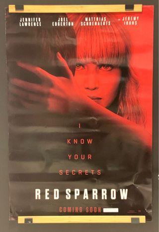 Red Sparrow Original Movie Poster