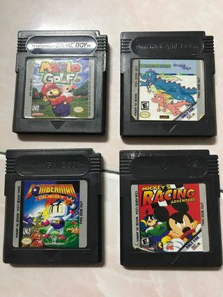 Gameboy Games Cartridge