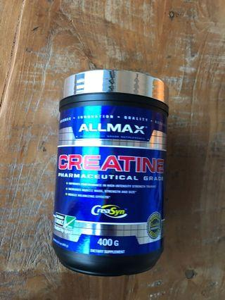 Unopened creatine