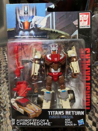 Transformers Titans Return chromedome headmaster