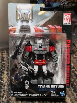 Transformers Titans Return Twinferno