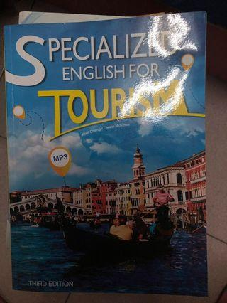 Specialized English for tourism/ISBN 9789863183655/大學英文課本