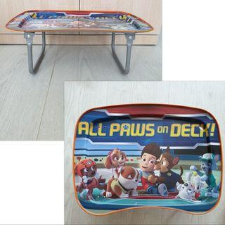 Foldable Small Mini Tray Table for Children Kids Play Activity / Dining - Paw Patrol Pictures: All Paws On Deck