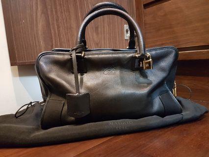 正品Loewe amazona  36cm 小牛皮手提包