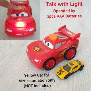 Talk with & Light - Disney Pixar Car McQueen