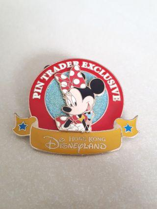 Minnie Mouse -Hong Kong Disneyland Enamel Pin Collection 2006