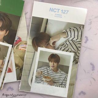 Jaehyun summer vacation polaroid set