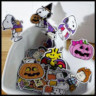 [Limited Edition] Snoopy Halloween Scrapbook / Planner Stickers #472