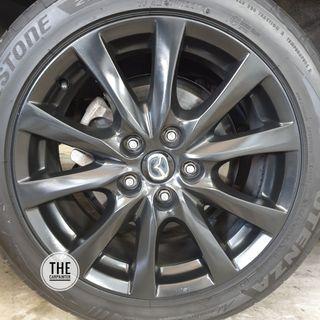 Mazda 3 Rims Plastidip Plasticdip Plastic Dip Plasti Dip Spray Service