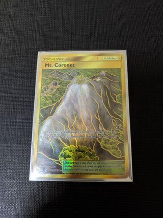 Pokemon Hidden Fates MT. Coronet