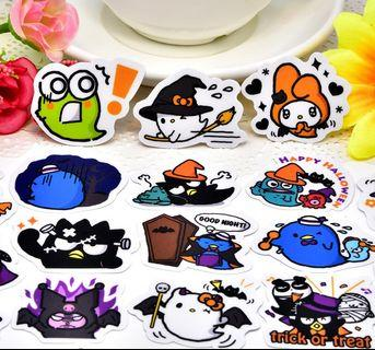 [Limited Edition] Sanrio Halloween Scrapbook / Planner Stickers #473