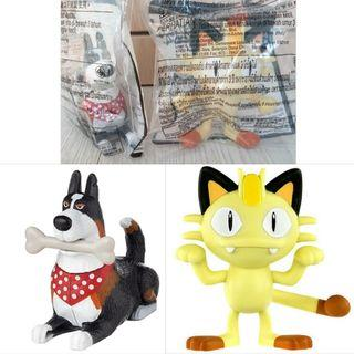 2 together for $3: McDonald's Dog ( Pets2 Bone Shaking Rooster ) + Cat ( Pokemon Meowth )