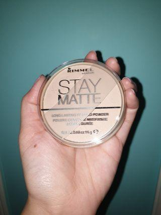 Rimmel Stay Matte Pressed Powder (natural)