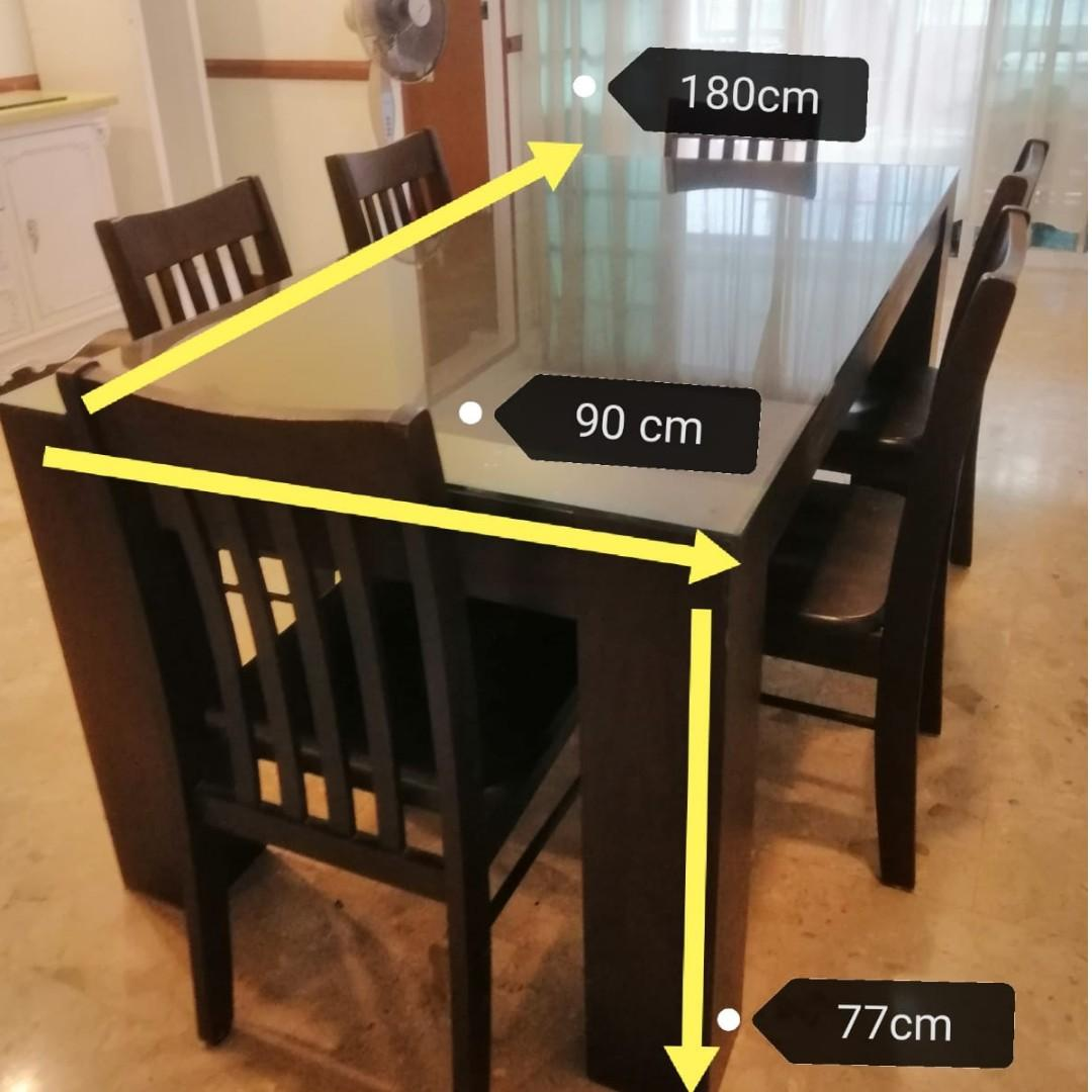 9nd Hand Dining Table, Furniture & Home Living, Furniture, Tables ...