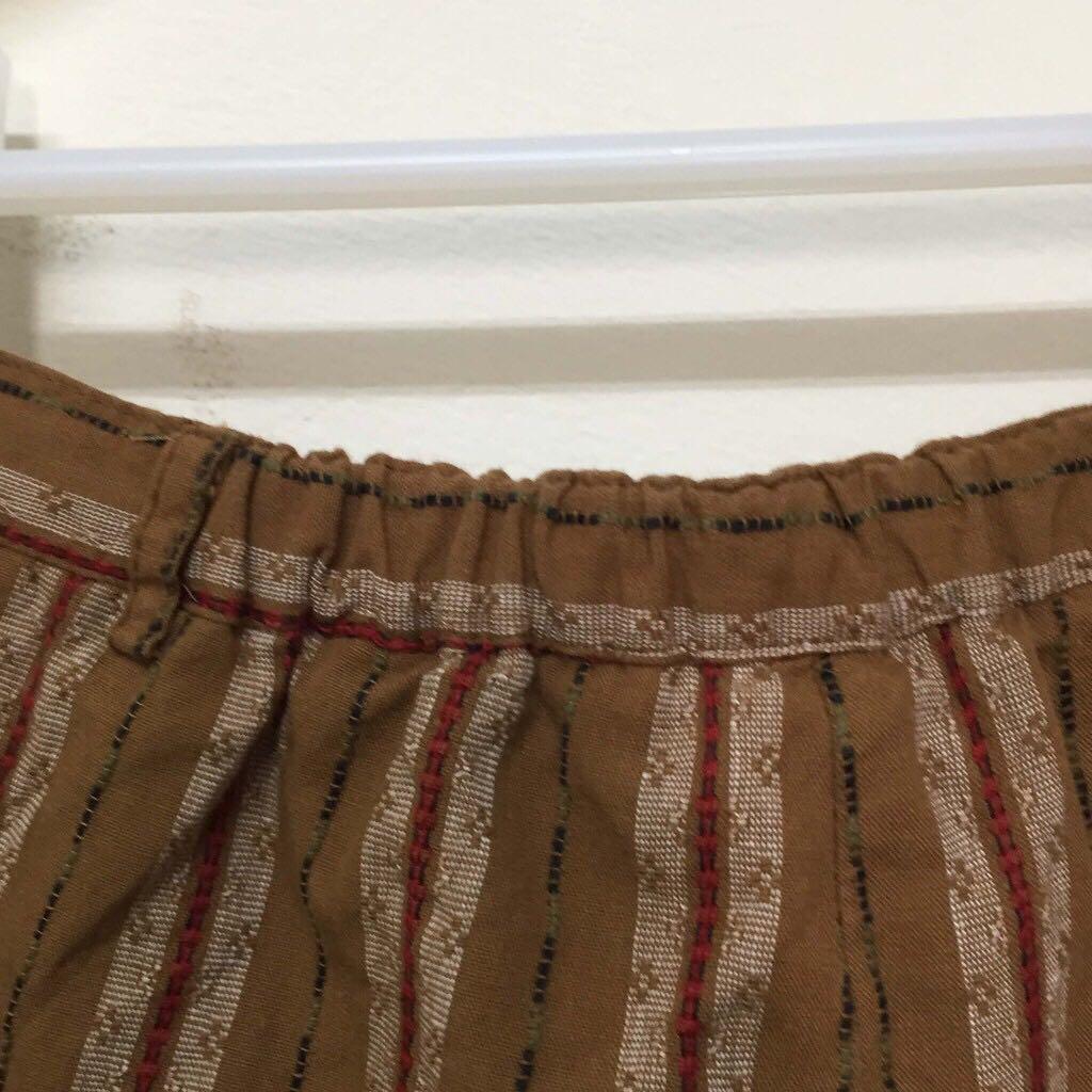 古著裙子✔樸實色調×直條紋×民俗風情×outdoor