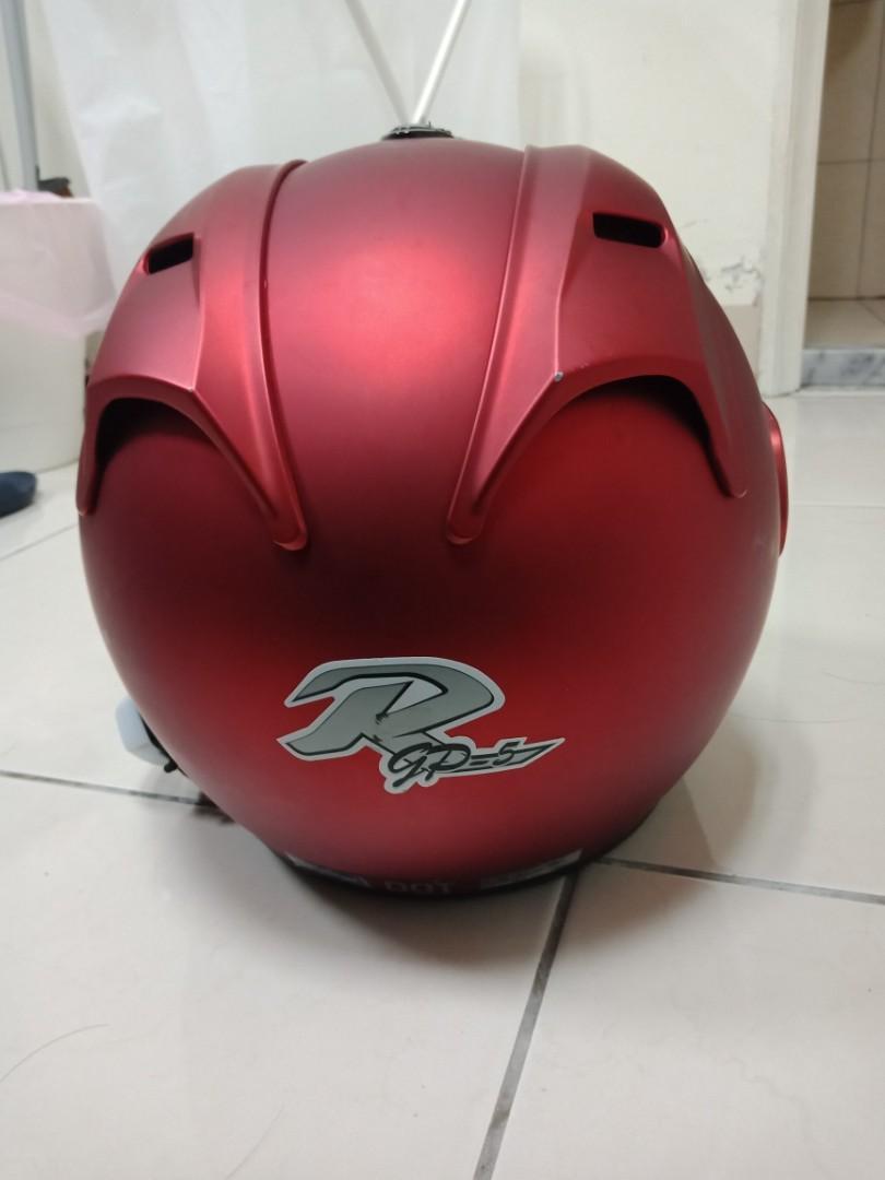 安全帽 R帽 GP-5 消光紅
