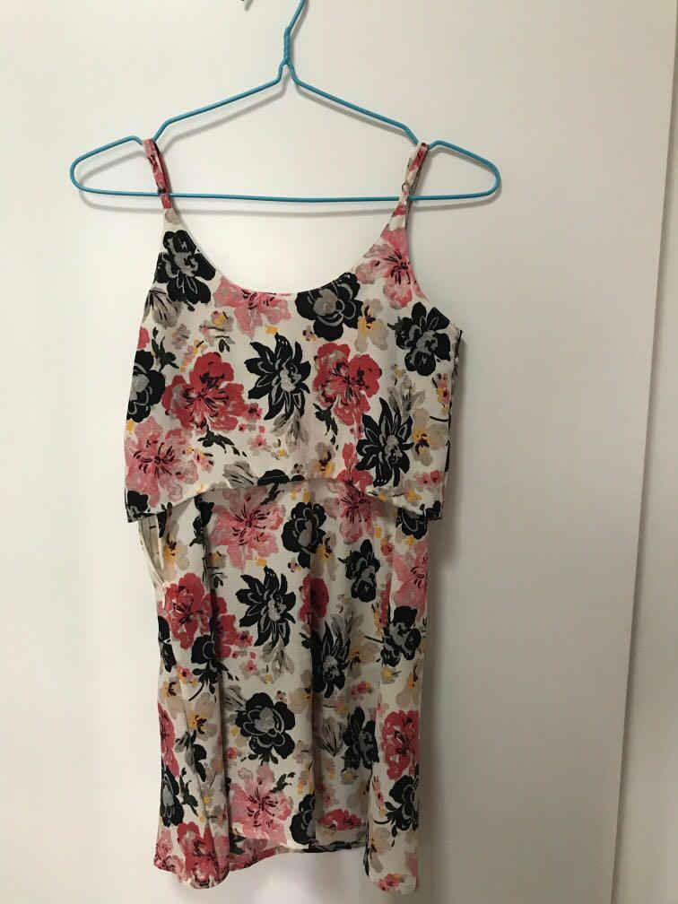 Abercrombie and Fitch floral dress