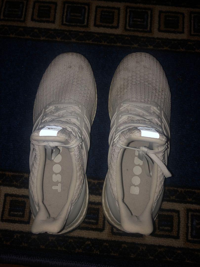 Adidas White Ultraboosts size 7