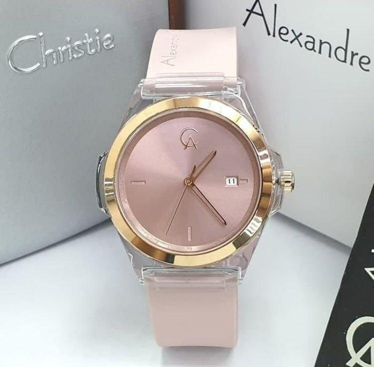 Alexandre Christie AC2809 Rosegold Light Purple