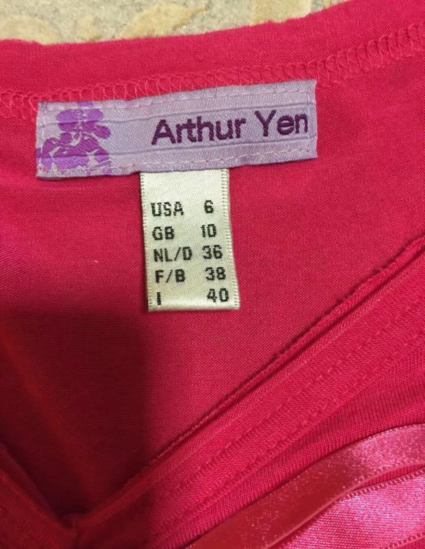 Arthur Yen Pink Top