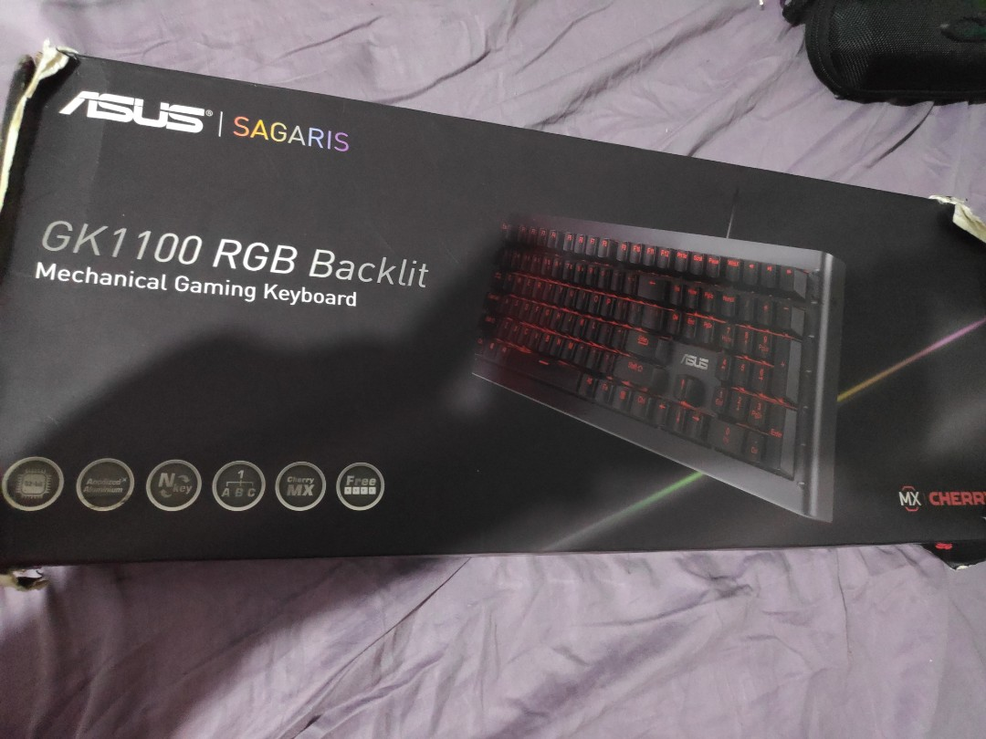 Asus Sagaris Gk1100 Electronics Computer Parts Accessories On Carousell