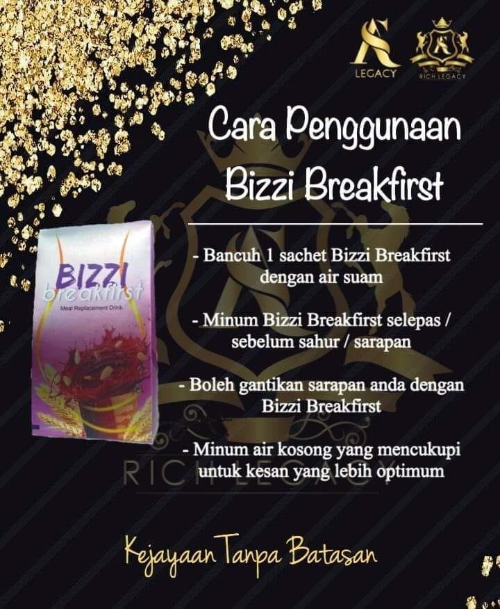 Bizzi Breakfirst (ready stock)