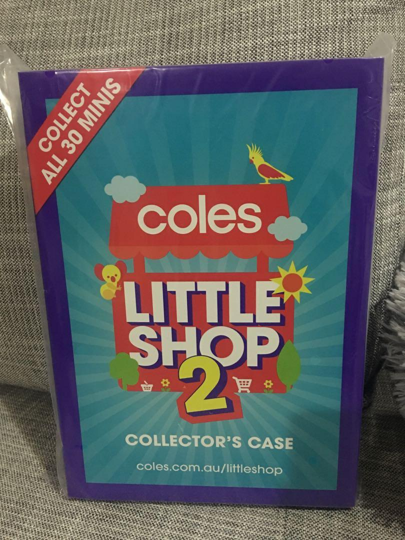Brand new unopened Coles Little Shop 2 Collector case