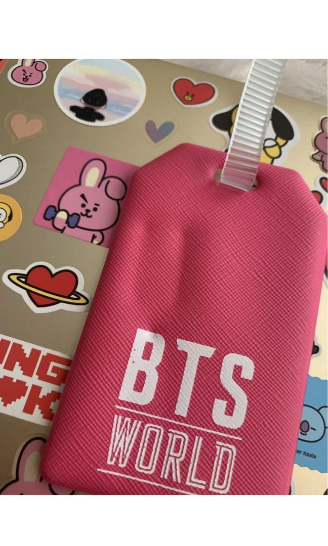 BTS WORLD Official Pre-Order Taehyung V Luggage Tag