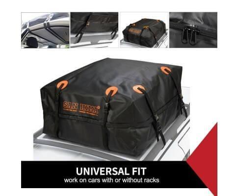 Car Roof Bag Top Rack Travel Cargo Carrier Luggage Storage Waterproof Bag