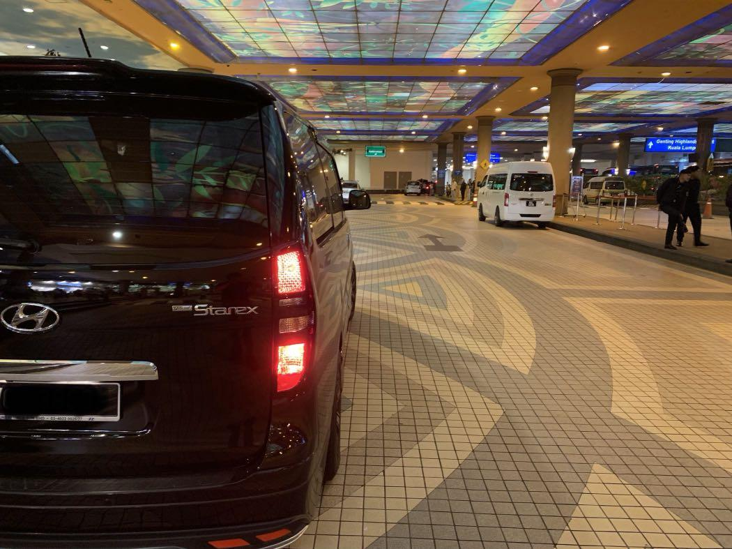 Car with driver to malaysia melaka kl genting