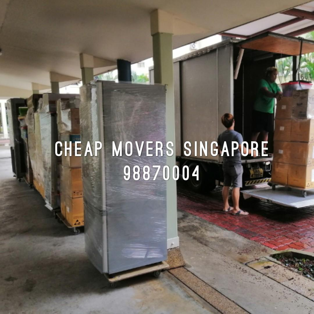Cheap movers Singapore / professional lorry mover service for house / Commercial / fish tank / piano / pool table  moving / storage / Cheapest price moving service in singapore