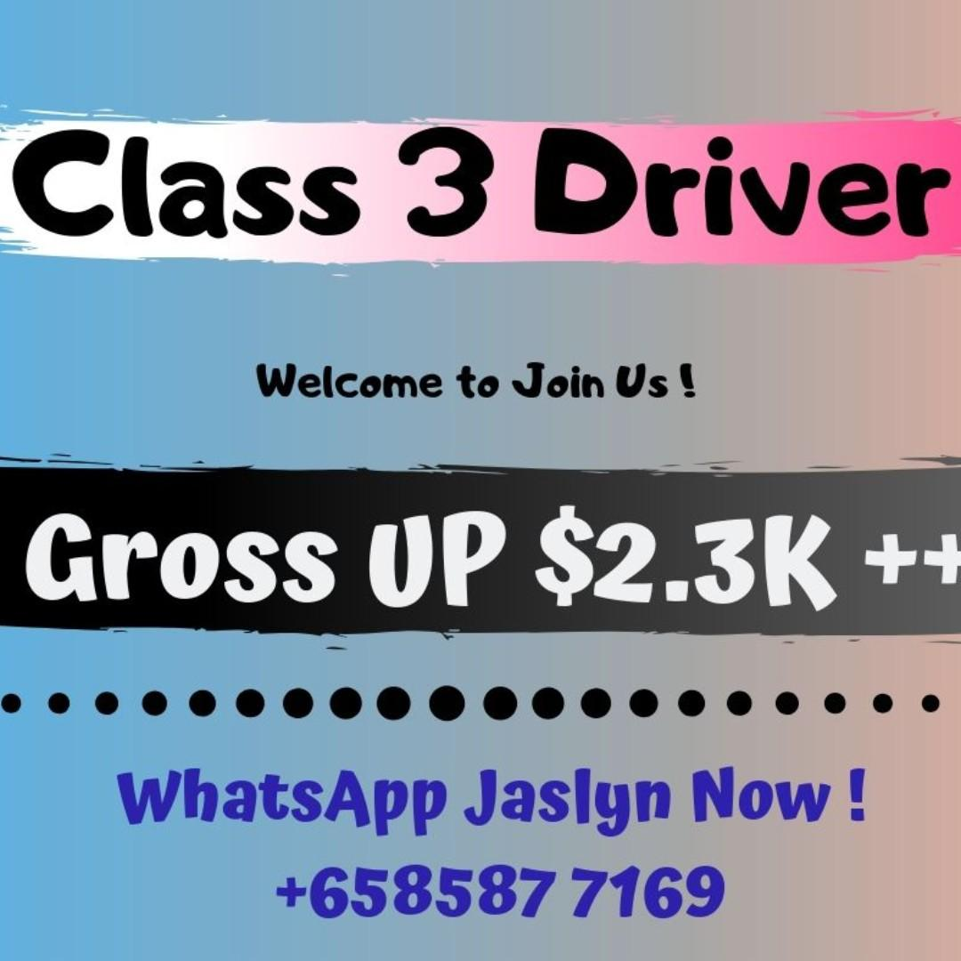 Class 3 Delivery Driver (Gross UP $2300 / West)