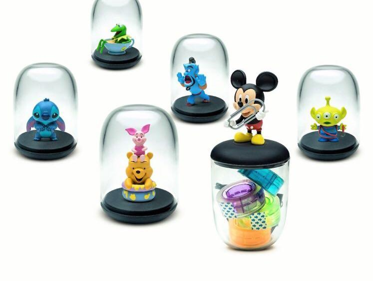 Comicave Disney studio Podz series 1 set of 6