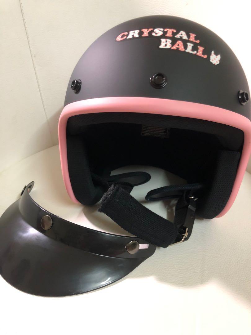 Crystal ball 正版全新安全帽