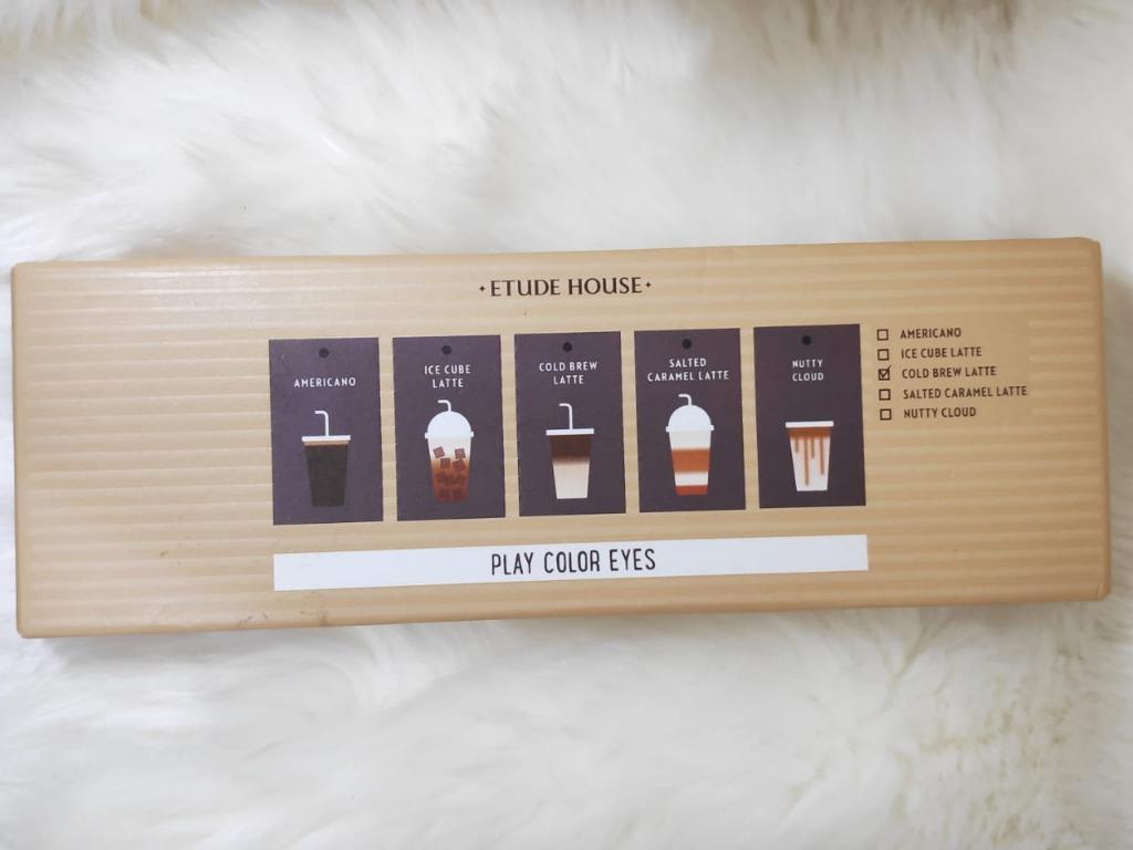 077 ETUDE HOUSE - PLAY COLOR EYES  Caffeine Holic