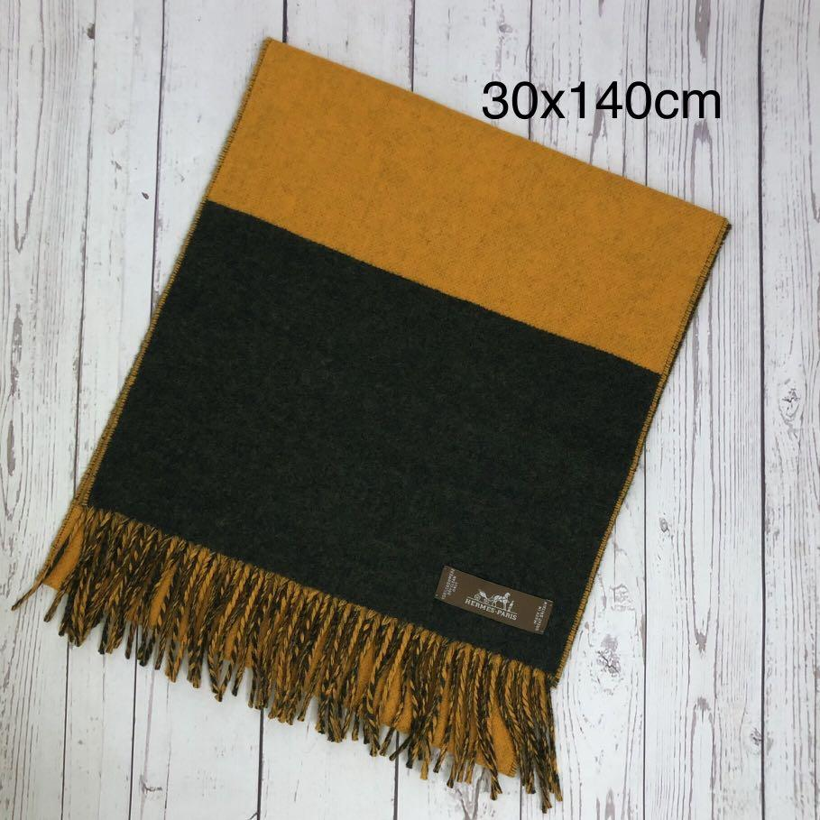 Hermes cashmere scarf